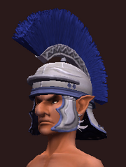 Snappy Blue Helmet (Equipped)