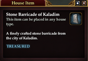 Stone Barricade of Kaladim