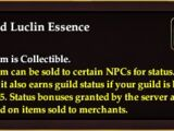Unified Luclin Essence