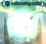 A cleansing entity