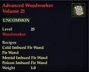Advanced Woodworker Volume 25