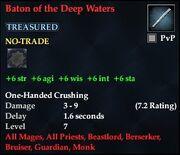 Baton of the Deep Waters