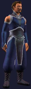 Blue fancy dress (Visible, Male)
