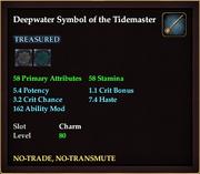 Deepwater Symbol of the Tidemaster
