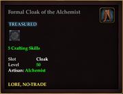 Formal Cloak of the Alchemist