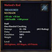 Warlord's Rod