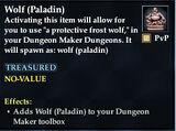Wolf (Paladin)