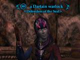 A Dartain warlock