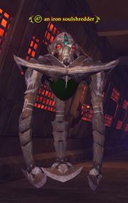 An iron soulshredder