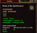 Boots of the Spiritweaver