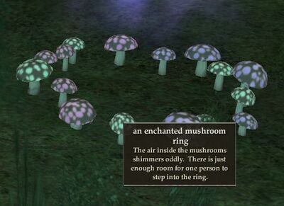 Enchantedmushroomring