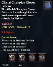 Glacial Champion Gloves Pattern