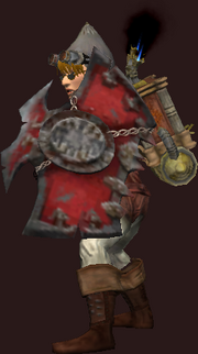 Heavy Bloodiron Shield (Equipped)