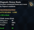 Magmatic Bronze Boots