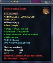 Stone Scaled Boots