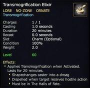 Transmogrification Elixir