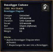 Bonedigger Costume