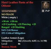 Hard Leather Pants of the Othmir