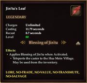 Jin'tu's Leaf