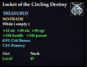 Locket of the Circling Destiny
