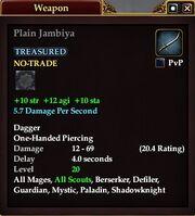 Plain Jambiya