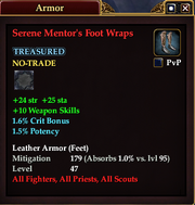 Serene Mentor's Foot Wraps