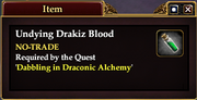 Undying Drakiz Blood