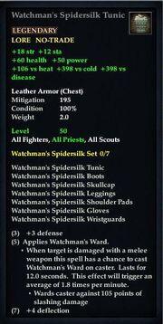 Watchman's Spidersilk Tunic