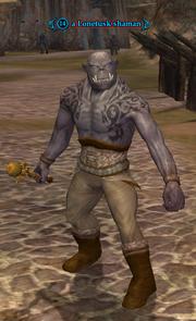 A Lonetusk shaman