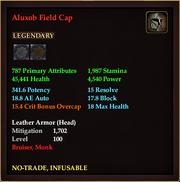 Aluxob Field Cap