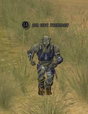 An orc runner