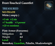 Frost-Touched Gauntlet