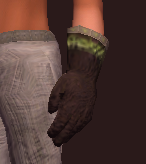 Naturalist's Sewn Leather Gloves (Equipped)
