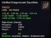 Vitrified Dragonscale Gauntlets (Version 1)