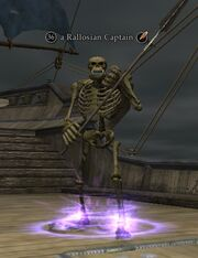 A Rallosian Captain