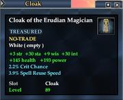 Cloak of the Erudian Magician