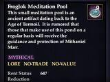 Froglok Meditation Pool