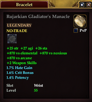 Rujarkian Gladiator's Manacle