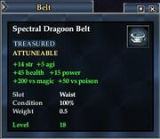 Spectral Dragoon Belt