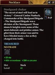 Steelguard choker (61)