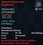 Tainted Trident of the Nightblood