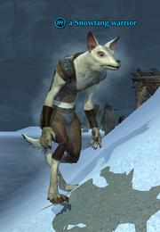 A Snowfang warrior