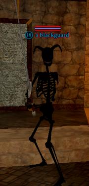 A blackguard