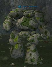 A quarry abomination