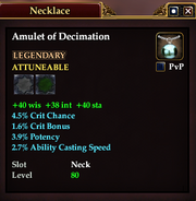 Amulet of Decimation