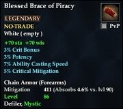 Blessed Brace of Piracy (Chain)