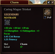 Caring Magus Trinket