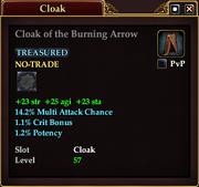 Cloak of the Burning Arrow