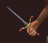 Desertwalker's Mystic Stiletto (Equipped)