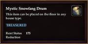 Mystic Snowfang Drum